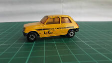 Matchbox Superfast 21 RENAULT 5TL Yellow Diecast Toy Car Collectible Le Car