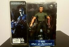 Terminator 2 Judgement Day T-800 Man or Machine 7in Action Figure Neca New