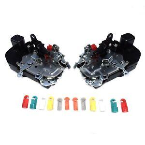 Front Left & Right Door Lock Actuator For Dodge Ram 1500 2500 3500 4500 5500