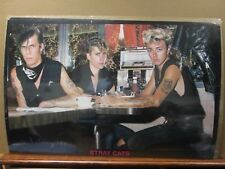 Stray Cats  Poster rock 1980's American Rockabilly band Inv#907