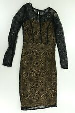 Forever Twentyone Womens  Black Lace Overlay Dress Size Small New with Tag