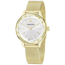 Swarovski 5430417 Octea Nova Watch, Gold Plated Mesh Strap, RRP$699