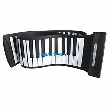 88 Keys Roll Up Electric Piano Keyboard Silicon Flexible Digital Piano Kids Gift