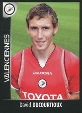 503 DAVID DUCOURTIOUX VALENCIENNES.FC  STICKER FOOT 2008 PANINI