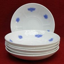 ADDERLEY England china CHELSEA pattern Set of Six (6) Saucers - 5-1/2""