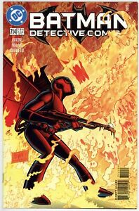 Detective Comics (1937) #714 NM- Martian Manhunter Appearance Batman Vs Firefly