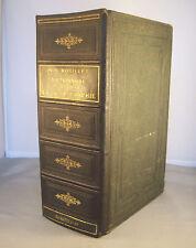 DICTIONNAIRE D'HISTOIRE ET DE GEOGRAPHIE / BOUILLET / RELIURE 1/2 CUIR 1884