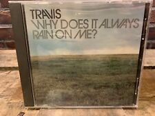 Why Does It Always Rain On Me by Travis (CD, PROMO Single)