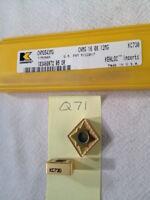 5 Pieces KENNAMETAL NPL51 KCGX110304L15 New Carbide Inserts Grade KC730