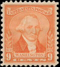 1932 9c Washington, William Joseph Williams, Pale Red Scott 714 Mint F/VF NH