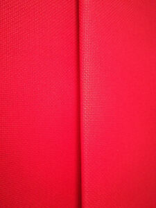 AIDA 14 COUNT RED CROSS STITCH FABRIC MATERIAL 100% COTTON  **10% OFF 3+**
