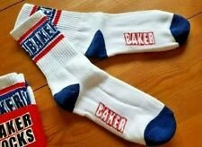 Baker Champion white navy smart football tennis Sport soccer Socks