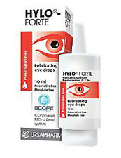 Hylo Forte Eye Drops, Preservative Free, Safe for use with all contact lenses
