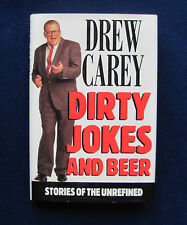 DIRTY JOKES & BEER SIGNED by DREW CAREY Autobiography