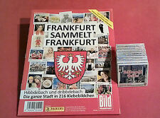 Panini Frankfurt sammelt Frankfurt - komplett alle 216 Sticker + Album RAR