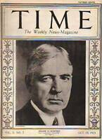 1923 Time October 15-New China President; France & Reds