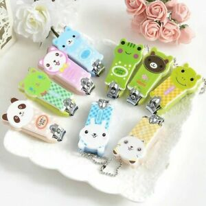 Kids Nail Clipper Baby Manicure Pedicure Safety Tool Care Animal Design Cutter