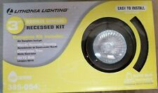"Lithonia Lighting 3"" Oil Bronze Recessed Lighting Gimbals LED Kit LS33-121"