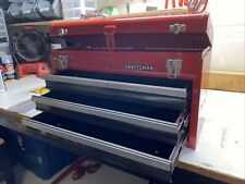 Craftsman Portable Tool Box 205 In Ball Bearing 3 Drawer Red Steel And Lockable