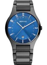 Relojes de pulsera titanio fecha Clásico