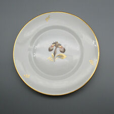 Royal Copenhagen Brown Iris Luncheon Plates - Set of Six