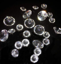 100g Wedding Decoration Scatter Crystals Table Diamonds Acrylic Confetti 6 /10mm