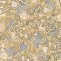 Robert Kaufman Lavish Geo space Shadow Metallic 100% cotton Fabric by the yard