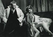 "Nadja Tiller ""The Night Affair"" Autogramm signed 20x30 cm Bild s/w"