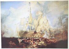 Turner - Battle of Trafalgar (Victory) - Limited Edition - Genuine Litho Print