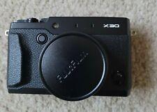 Fujifilm X30 12 MP Digital with 3.0-Inch LCD Black **NEW**