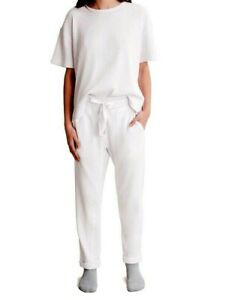 """Country Road white French linen pants, sz. 14 """"SLIP INTO NEUTRAL"""""""