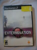 Extermination Original case NO Manual PS2 Playstation 2 Sony Video Game