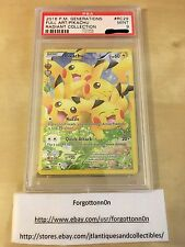 2016 Pokemon Generations Radiant Collection RC29 Pikachu/Full Art PSA 9 Mint