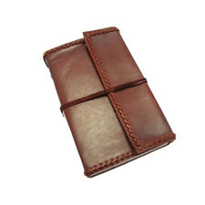 Fair Trade Handmade Eco XXL Stitched Leather Journal Notebook Diary 2nd Quality