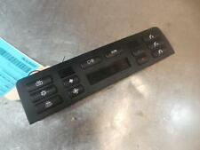 BMW 3 SERIES HEATER/AC CONTROLS E46, 2 BUTTONS UNDER DISPLAY SCREEN TYPE, 09/98-