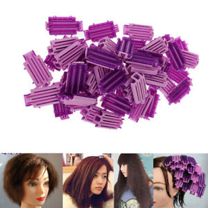 50 x Wave Perm Rod Corn Hair Hairdressing Clip Curler Maker Styling DIY Tool