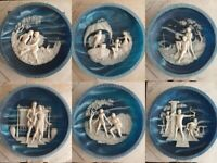 """CHOICE """"Voyage of Ulysses"""" Incolay Studios Collector Plate w/ Box & COA"""