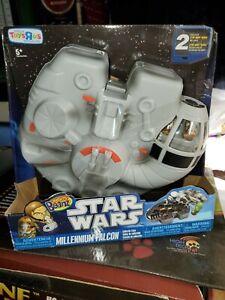 STAR WARS Mighty Beanz Millennium Falcon 2010 Collector Case Brand New Toy Sale