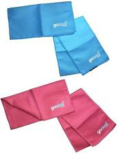 GoCool by Mission Instant Cooling Towel and Wrap Sets (Blue & Pink)