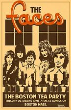 The Faces 1970 Tour Poster