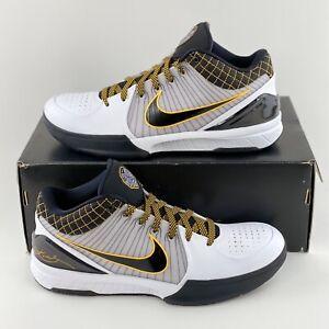 Nike Zoom Kobe 4 IV Protro Del Sol Men's Basketball Shoes Black White AV6339 101