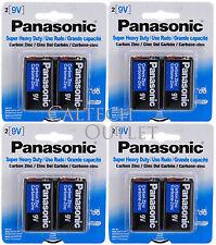 8PK Panasonic 9 Volts (9V) Battery Batteries Super Heavy Duty Zinc Carbon