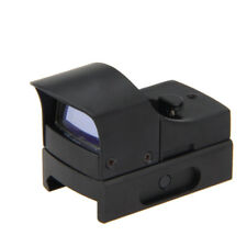 Micro Mini Tactical Compact Holographic Reflex Red Green Dot Sight Scope   Q