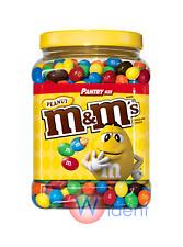 M&M's M&M Peanut Chocolate Candy Pantry Size Jar 62 oz