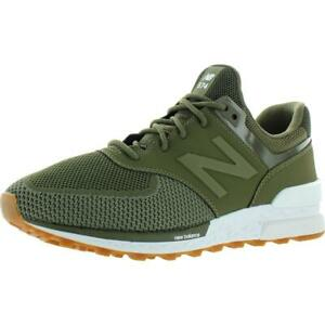 New Balance Mens 574 Green Athletic Shoes Sneakers 4 Medium (D)  0118