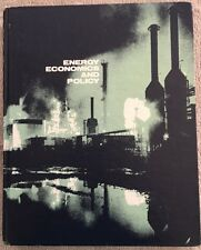 Energy Economics and Policy by James M. Griffin and Henry B. Steele, 1980, H/C