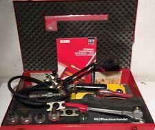 Rehau H1 Schiebehülsenwerkzeug Presswerkzeug Aufweitköpfe Presszange Rechnung