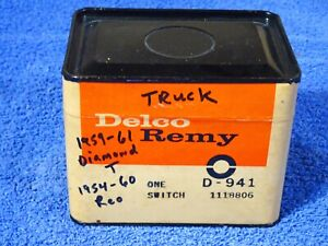 1954-1961 Diamond T Reo Delco Remy Starter Solenoid Switch NOS