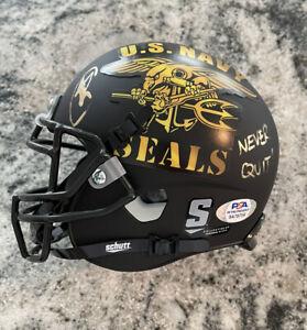 "U.S. Navy SEAL Robert O'Neill Signed Mini Helmet Inscribed ""Never Quit!"" PSA/DNA"