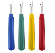 4 Stitch Ripper Plastic Handle Thread Seam Ripper Cutter Remover Sewing Craft L
